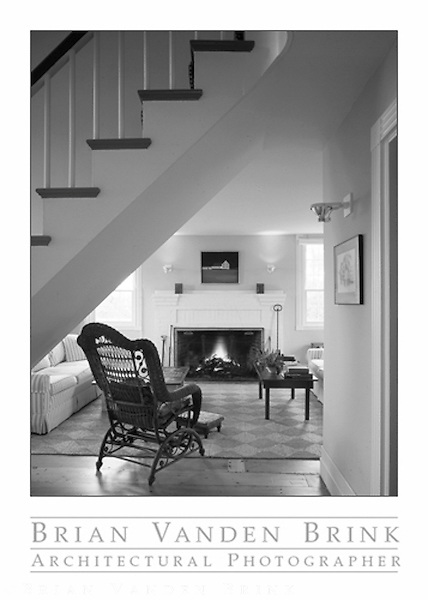 PRIVATE RESIDENCE<br /> Small Point, Maine<br /> Steven Foote, Architect © Brian Vanden Brink, 1989