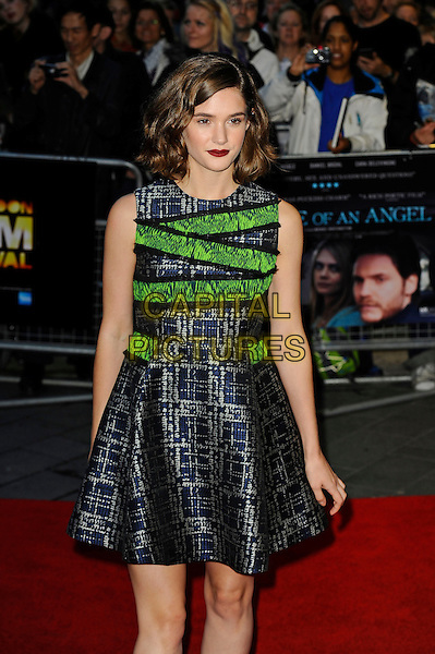 LONDON, ENGLAND - OCTOBER 18: Sai Bennett attends 'The Face Of An Angel' Screening at the 58th BFI London Film Festival at Odeon West End Cinema, Leicester Square on October 18, 2014 in London, England.<br /> CAP/MAR<br /> &copy; Martin Harris/Capital Pictures
