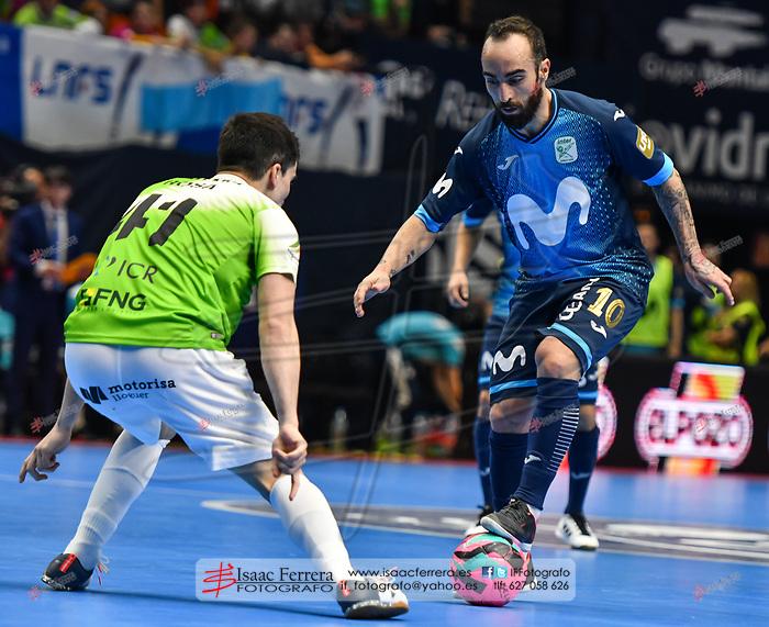 XXX Copa de España de Futbol Sala - LNFS <br /> Valencia 2019.<br /> <br /> Movistar Inter 3 - Palma Futsal 2<br /> <br /> Pabellon de la Fuente de San Luis (Valencia - España)<br /> <br /> 28 de febrero de 2019.