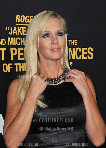 "Jennie Garth at the premiere of ""End of Watch"" at the Regal Cinemas LA Live..September 17, 2012  Los Angeles, CA.Picture: Paul Smith / Featureflash"
