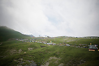 Le Col du Tourmalet (HC/2115m/17.1km/7.3%)<br /> <br /> 2014 Tour de France<br /> stage 18: Pau - Hautacam (145km)