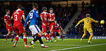Jason Holt (hidden by MOH) scores after a cutback by Michael O'Halloran