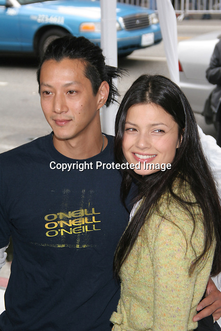 Will Yun Lee &amp; guest<br />&quot;The Polar Express&quot; Los Angeles Premiere - Arrivals<br />Grauman's Chinese Theatre<br />Hollywood, CA, USA<br />Sunday, November 07th, 2004<br />Photo By Celebrityvibe.com/Photovibe.com, <br />New York, USA, Phone 212 410 5354, <br />email: sales@celebrityvibe.com