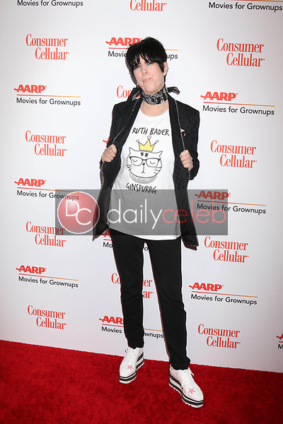 Diane Warren<br /> at the AARP Movies for Growups Awards, Beverly Wilshire Hotel, Beverly Hills, CA 02-04-19<br /> David Edwards/DailyCeleb.com 818-249-4998