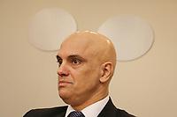 """São Paulo (SP), 12/04/2019 - Política / Alexandre de Moraes - Alexandre de Moraes, Ministro do Supremo Tribunal Federal, participa de conferência com o tema ¨Evolução na Ordem Econômica e Financeira Constitucional"""", na Uninove, nesta sexta-feira, 12. ( Foto: Charles Sholl/Brazil Photo Press)"""