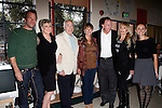 Thomas Jane, Dr Lois Lee, Richard S Rosenzweig, Kathleen Quinlan, David Snowden, Dyan Cannon, Emily Lynch at a ceremony where Hugh Hefner receives first founder's 'Hero of the Hearts' award from Children of the Night on November 18, 2010 in Van Nuys, Los Angeles, California.