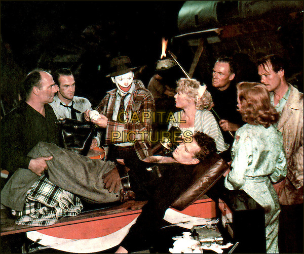 JAMES STEWART, BETTY HUTTON, CHARLTON HESTON & GLORIA GRAHAM.in The Greatest Show on Earth (1952) .(Cecil B. DeMille's The Greatest Show on Earth).*Filmstill - Editorial Use Only*.CAP/STF/PEL.Supplied by Capital Pictures.