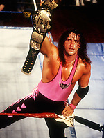 Bret Hart The Hitman 1988<br /> Photo By John Barrett/PHOTOlink.net