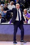 Real Madrid's coach Pablo Laso during Turkish Airlines Euroleague match between Real Madrid and FC Barcelona Lassa at Wizink Center in Madrid, Spain. March 22, 2017. (ALTERPHOTOS/BorjaB.Hojas)