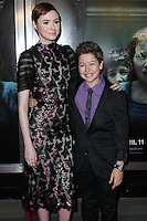 """HOLLYWOOD, LOS ANGELES, CA, USA - APRIL 03: Karen Gillan, Garrett Ryan at the Los Angeles Screening Of Relativity Media's """"Oculus"""" held at TCL Chinese 6 Theatre on April 3, 2014 in Hollywood, Los Angeles, California, United States. (Photo by Xavier Collin/Celebrity Monitor)"""