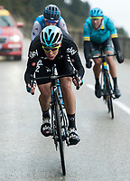 Picture by Alex Broadway/SWpix.com - 11/03/2018 - Cycling - 2018 Paris Nice - Stage Eight - Nice to Nice - David de la Cruz of Team Sky descends in Nice.<br /> <br /> NOTE : FOR EDITORIAL USE ONLY. THIS IS A COPYRIGHT PICTURE OF ASO. A MANDATORY CREDIT IS REQUIRED WHEN USED WITH NO EXCEPTIONS to ASO/Alex Broadway MANDATORY CREDIT/BYLINE : ALEX BROADWAY/ASO