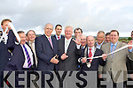 Minister of Defence Tony Kileen cuts the tape to officially open the Castleisland By-pass on Friday