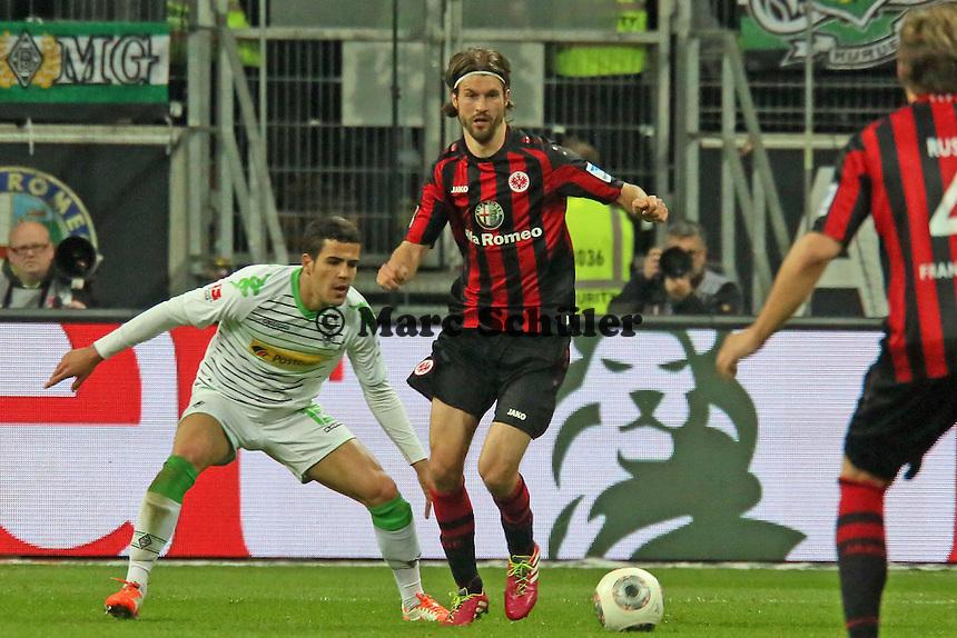 Martin Lanig (Eintracht) - Eintracht Franfurt vs. Borussia Mönchengladbach, Commerzbank Arena