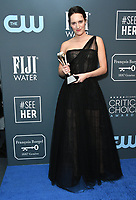 12 January 2020 - Santa Monica, California - Phoebe Waller Bridge. 25th Annual Critici's Choice Awards - Press Room held at Barker Hangar. Photo Credit: Birdie Thompson/AdMedia