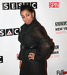 Nyticka Tiki Hemingway attends The 2010 SESAC New York Music Awards at IAC Building, New York, 5/12/10