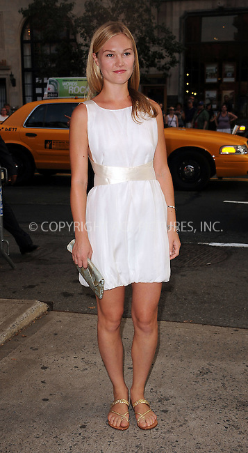 WWW.ACEPIXS.COM . . . . . ....August 17 2009, New York City....Actress Julia Stiles arriving at The Cinema Society & Hugo Boss screening of 'Inglourious Basterds' at the SVA Theater on August 17, 2009 in New York City.....Please byline: KRISTIN CALLAHAN - ACEPIXS.COM.. . . . . . ..Ace Pictures, Inc:  ..tel: (212) 243 8787 or (646) 769 0430..e-mail: info@acepixs.com..web: http://www.acepixs.com