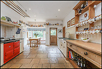 BNPS.co.uk (01202 558833)<br /> Pic: KnightFrank/BNPS<br /> <br /> Fans of the Oscar-winning film Howards End could follow in the footsteps of Anthony Hopkins and Emma Thompson - as the house that starred in the film is now on the market for &pound;3.95million.<br /> <br /> Peppard Cottage in Rotherfield Peppard, Oxfordshire, is so integral to the plot of the 1992 Merchant Ivory production it even features on the cover of the DVD.<br /> <br /> The idyllic ivy-covered property, which dates back to the 14th century, has also been used for other classic British shows such as Poirot, Inspector Morse and Midsomer Murders.<br /> <br /> The beautiful rural home, on the market with Knight Frank, has eight bedrooms and 2.3 acres of grounds.