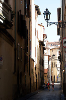 Via dello Sprone, in the Altrarno district, Florence