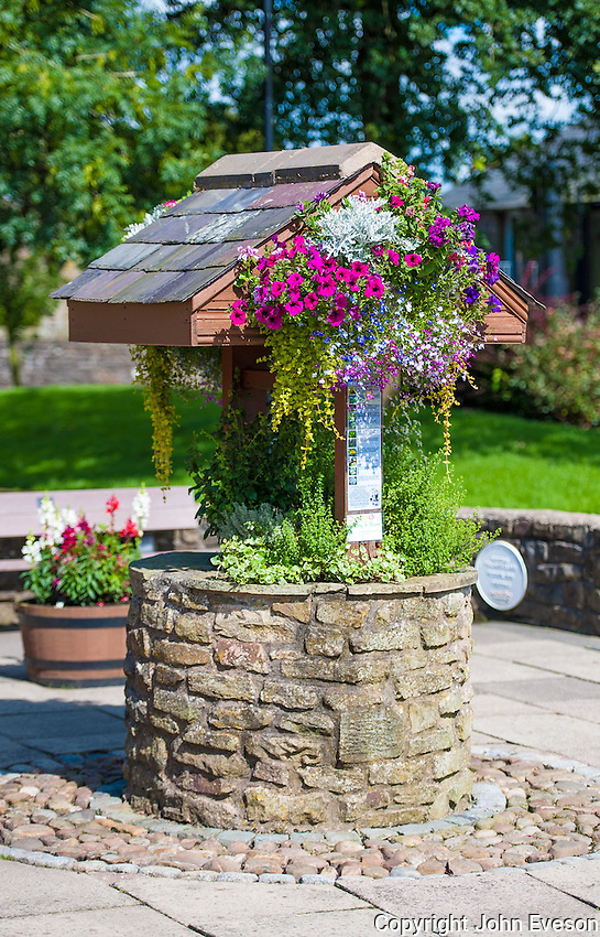 Chipping, Lancashire, finalists in the RHS Britain in Bloom competition 2012.