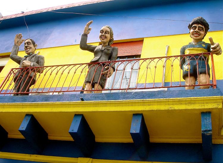 Caminito, Port La Boca, Buenos Aires, Argentina | Feb 08