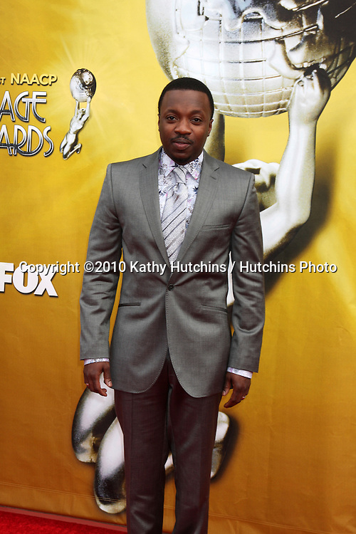 Anthony Hamilton.arriving  at the 41st NAACP Image Awards .Shrine Auditorium.Los Angeles, CA.February 26, 2010.©2010 Kathy Hutchins / Hutchins Photo....