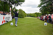Darren CLARKE (NIR) during round 2 of the 2015 BMW PGA Championship over the West Course at Wentworth, Virgina Water, London. 22/05/2015<br /> Picture Fran Caffrey, www.golffile.ie: