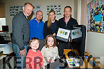 Members of Kerryhead Family Resource and the public who announced for a talk to parents of Cyber awareness on computers at the Kerryhead Family Resource Centre,Ballyheigue,Front l-r:Tadhg and Ellen Lucey: Back l-r: John Tynan,Niall Lucey,Marian Godley and Seamus Falvey.
