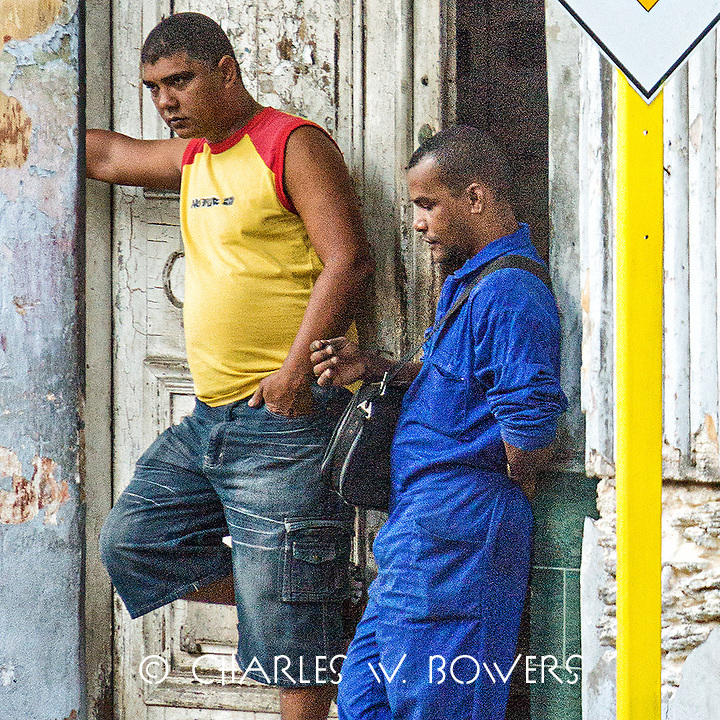 Faces Of Cuba - Texting the girl friend.<br /> <br /> -Limited Edition of 50 prints.