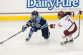 Emilie Brigham (Maine - 12), Kristyn Capizzano (BC - 7) - The Boston College Eagles defeated the visiting University of Maine Black Bears 2-1 on Saturday, October 8, 2016, at Kelley Rink in Conte Forum in Chestnut Hill, Massachusetts.  The University of North Dakota Fighting Hawks celebrate their 2016 D1 national championship win on Saturday, April 9, 2016, at Amalie Arena in Tampa, Florida.