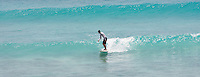 Sam surfing at Freights, nr Oistens , South Coast ..Barbados , Easter 2010 ..pic copyright Steve Behr / Stockfile