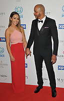 Katie Piper and Richard James Sutton at the Football For Peace Initiative Dinner by Global Gift Foundation, Corinthia Hotel, Whitehall Place, London, England, UK, on Monday 08th April 2019.<br /> CAP/CAN<br /> ©CAN/Capital Pictures