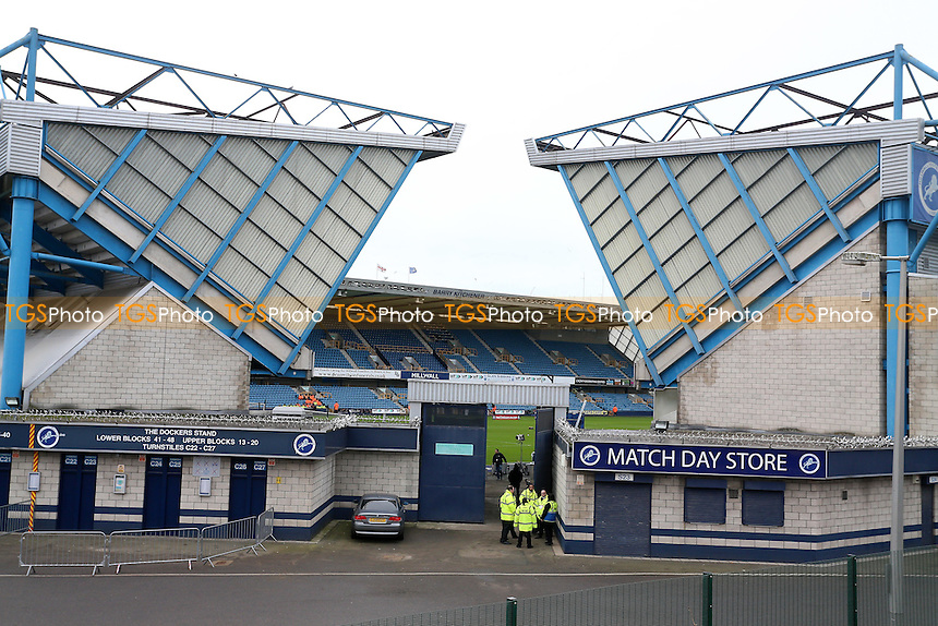 General view of the ground ahead of Millwall vs Watford, Emirates FA Cup Football at The Den on 29th January 2017