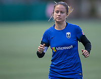 Seattle, WA - Saturday July 22, 2017: Lauren Barnes during a regular season National Women's Soccer League (NWSL) match between the Seattle Reign FC and Sky Blue FC at Memorial Stadium.