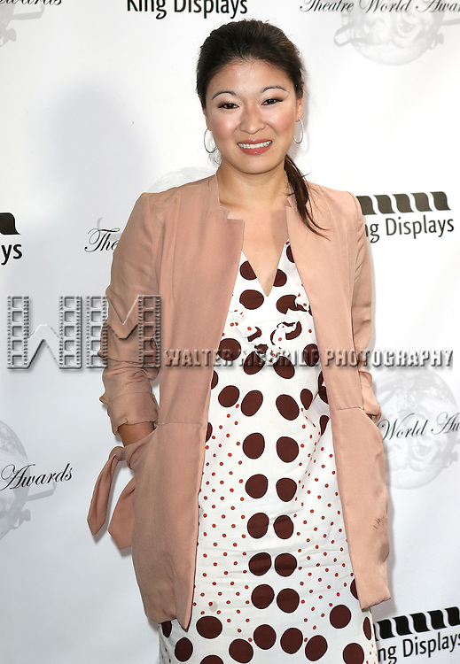 Jennifer Lim attending the 69th Annual Theatre World Awards at the Music Box Theatre in New York City on June 03, 2013.