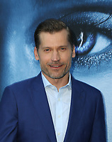"LOS ANGELES, CA July 12- Nikolaj Coster-Waldau,  At Premiere Of HBO's ""Game Of Thrones"" Season 7 at The Walt Disney Concert Hall, California on July 12, 2017. Credit: Faye Sadou/MediaPunch"