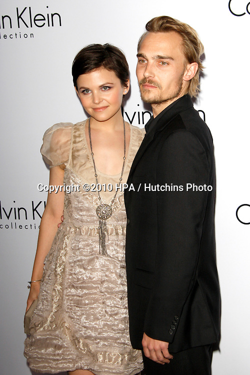 Ginnifer Goodwin & Joey Kern.arriving at the Calvin Klein collection and LOS ANGELES NOMADIC DIVISION Present a Celebration of L.A. ARTS MONTH.Calvin Klein Store.Los Angeles, CA.January 28, 2010.©2010 HPA / Hutchins Photo....