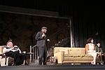 Laurence O'Dwyer, Jarlath Conroy, Felicity Jones & Sebastian Naskaris star in Harold Pinter's The Homecoming at Centerstage, Baltimore, Maryland. Dress Rehearsal - January 27, 2011. (Photos by Sue Coflin/Max Photos)