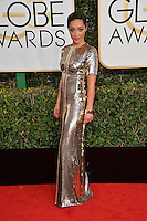Ruth Negga at the 74th Golden Globe Awards  at The Beverly Hilton Hotel, Los Angeles USA 8th January  2017<br /> Picture: Paul Smith/Featureflash/SilverHub 0208 004 5359 sales@silverhubmedia.com