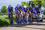 Koga Cycling Team, Stage 2: Team Time Trial, 62th Olympia's Tour, Netterden, The Netherlands, 13th May 2014, Photo by Thomas van Bracht / Peloton Photos