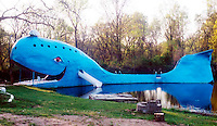The Blue Whale on old Route 66 in Catoosa, OK