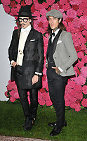 Joshua Kane and Jimmy Q (James Edward Quaintance) at the Remembering Audrey Hepburn charity gala celebrating the life of the late actress, Royal Lancaster Hotel, Lancaster Terrace, London, England, UK, on Saturday 06 October 2018.<br /> CAP/CAN<br /> &copy;CAN/Capital Pictures