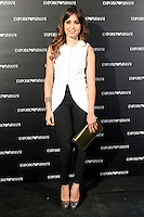 Hiba Abouk attends the Emporio Armani Boutique opening at Serrano street in Madrid, Spain. April 08, 2013. (ALTERPHOTOS/Caro Marin) /NortePhoto