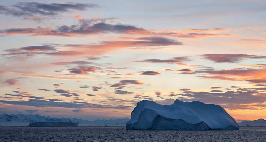 Sunset in Atarctica