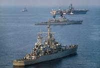 navi della Sesta Flotta dell'US navy in Mediterraneo