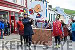 Féile na Bealtaine parade under way along the streets of Dingle over the weekend.