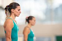 Francesca Dallape e Tania Cagnotto <br /> Bolzano 5-12-2018 <br /> Tania Cagnotto riprende gli allenamenti dopo il ritiro del 2017 <br /> Photo Pasquale Mesiano/ Deepbluemedia /Insidefoto