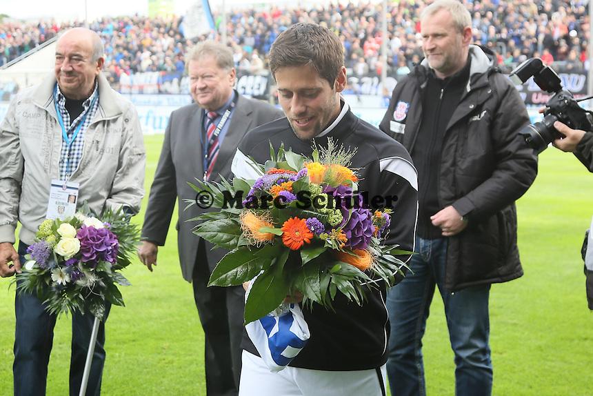 Michael Goerlitz (FSV) wird verabschiedet - FSV Frankfurt vs. 1. FC Koeln, Frankfurter Volksbank Stadion