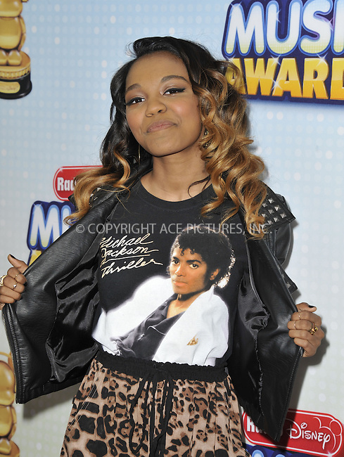 WWW.ACEPIXS.COM....April 27 2013, LA....China Anne McClain arriving at the 2013 Radio Disney Music Awards at the Nokia Theatre L.A. Live on April 27, 2013 in Los Angeles, California...........By Line: Peter West/ACE Pictures......ACE Pictures, Inc...tel: 646 769 0430..Email: info@acepixs.com..www.acepixs.com