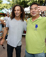 October 2, 2010: Legendary musician Kenny G meets with guests at the 'Rhythm on the Vine' charity event to benefit Shriners Children Hospital held at  the South Coast Winery Resort & Spa in Temecula, California..Photo by Nina Prommer/Milestone Photo