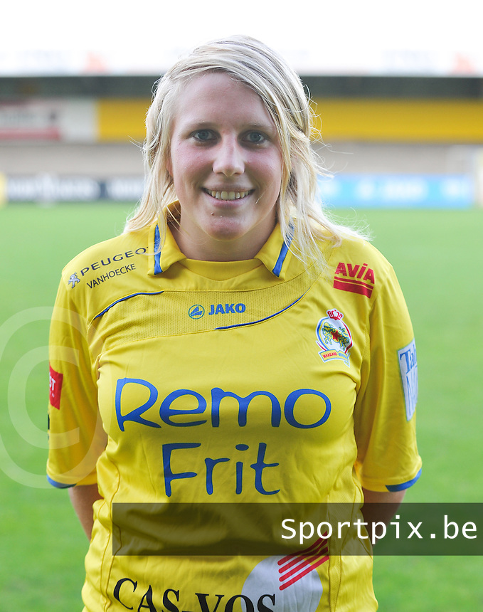 Waasland Beveren Sinaai Girls : Wiene Van Guyse.foto Vrouwenteam.be / David Catry